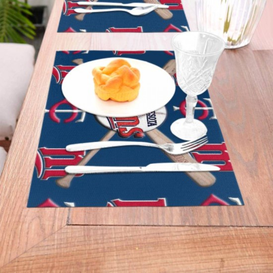 Durable MLB Minnesota Twins Woven placemat #348927 mats for Kitchen Table