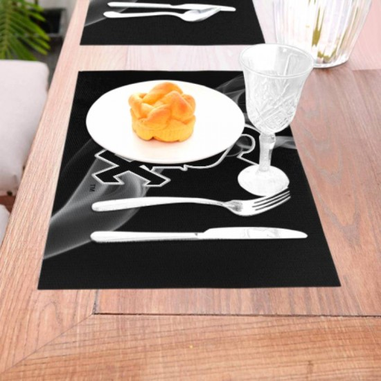 Anti-Skid Chicago White Sox Woven placemat #347550 Placemats, 18x12 inches
